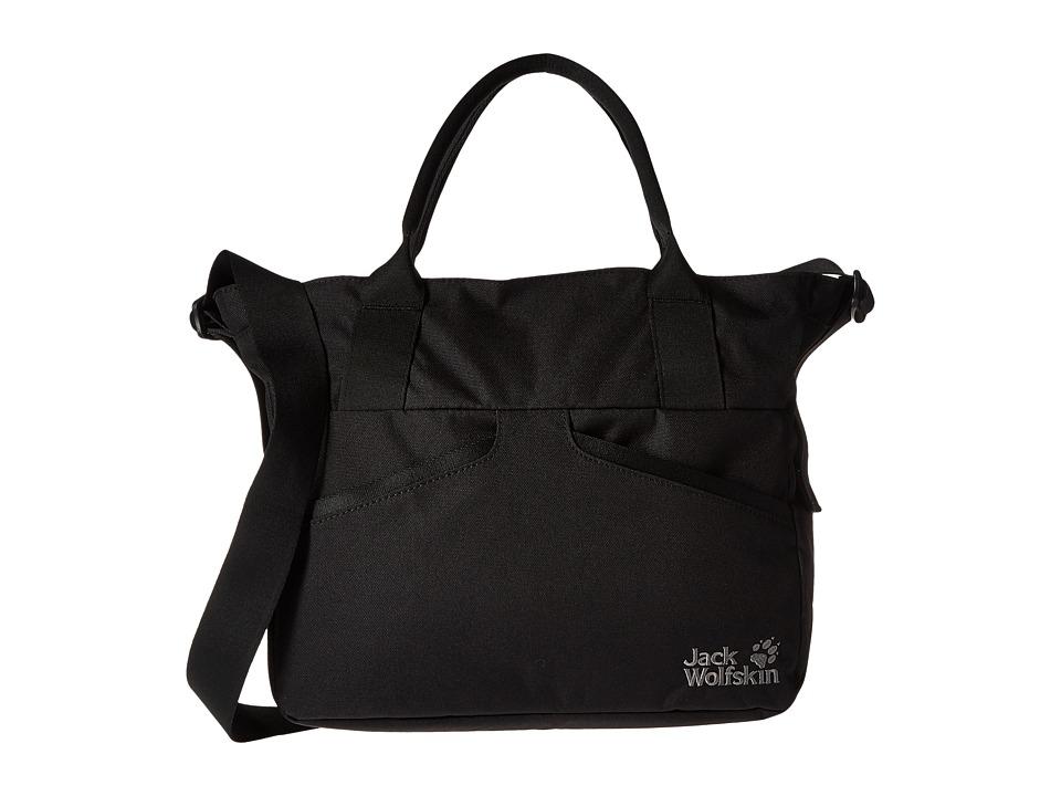 Jack Wolfskin - Midtown (Black) Backpack Bags