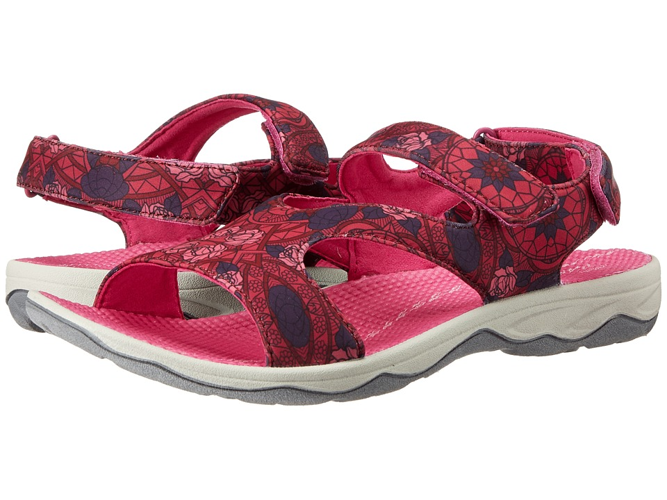 Easy Spirit - Yogala (Red Multi) Women's Shoes
