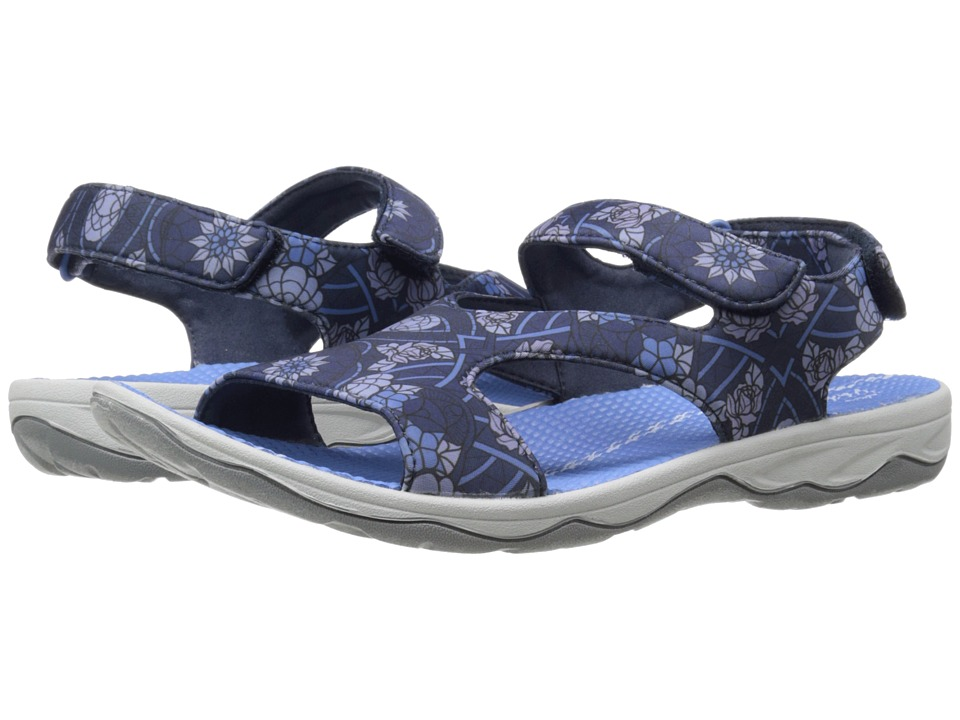 Easy Spirit - Yogala (Blue Multi) Women's Shoes