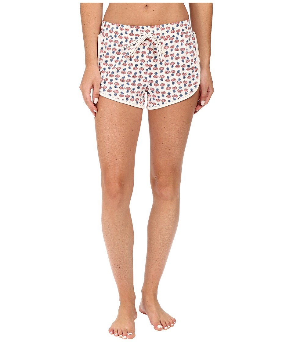 Jane & Bleecker - Jersey Shorts (Star Flower) Women's Pajama
