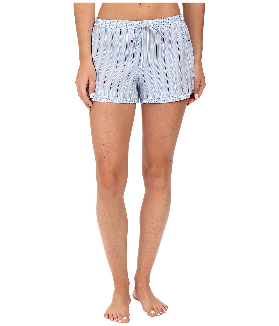 Jane & Bleecker - Cotton Lawn Shorts (Park Stripe) Women