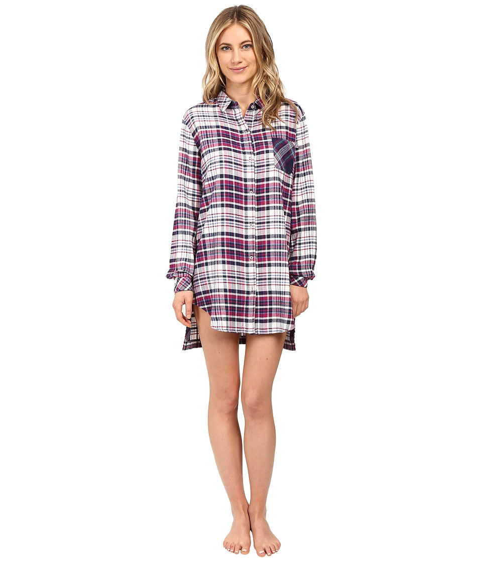 Jane & Bleecker - Light Weight Twill Sleepshirt (Dorm Plaid) Women's Pajama