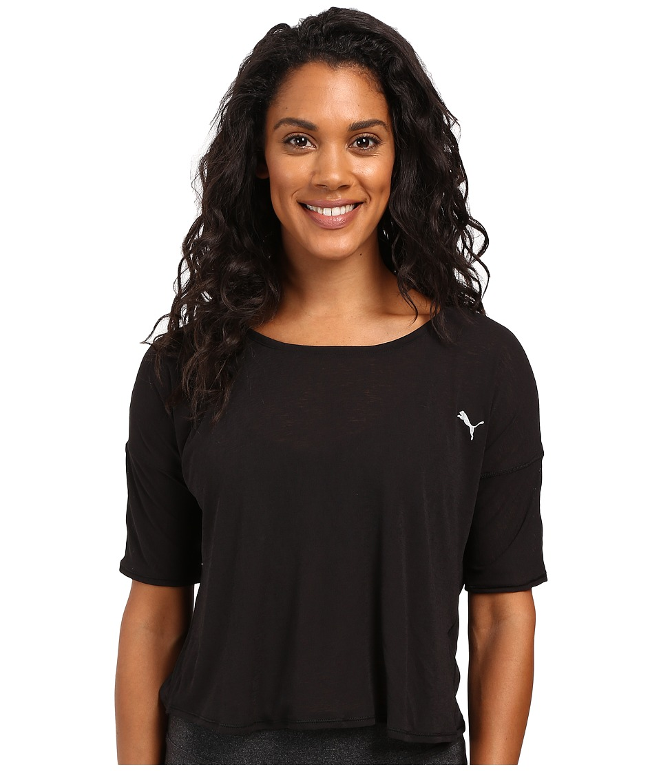 PUMA - The Good Life Tee (PUMA Black) Women's T Shirt