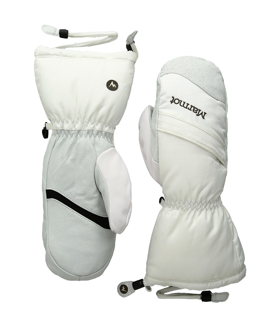 Marmot - Warmest Mitt (Soft White) Snowboard Gloves