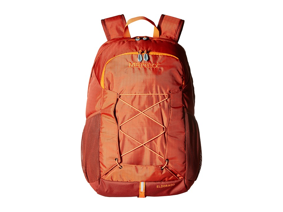 Marmot - Eldorado Daypack (Rusted Orange/Mahogany) Day Pack Bags