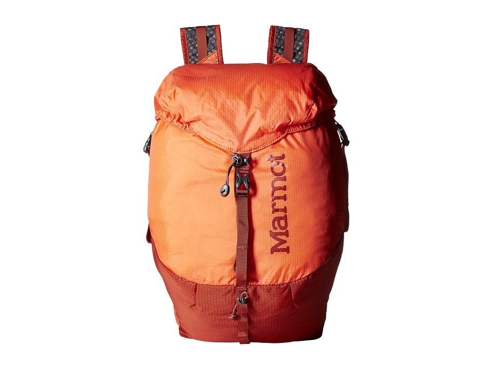 Marmot - Kompressor Daypack (Blaze/Rusted Orange) Day Pack Bags