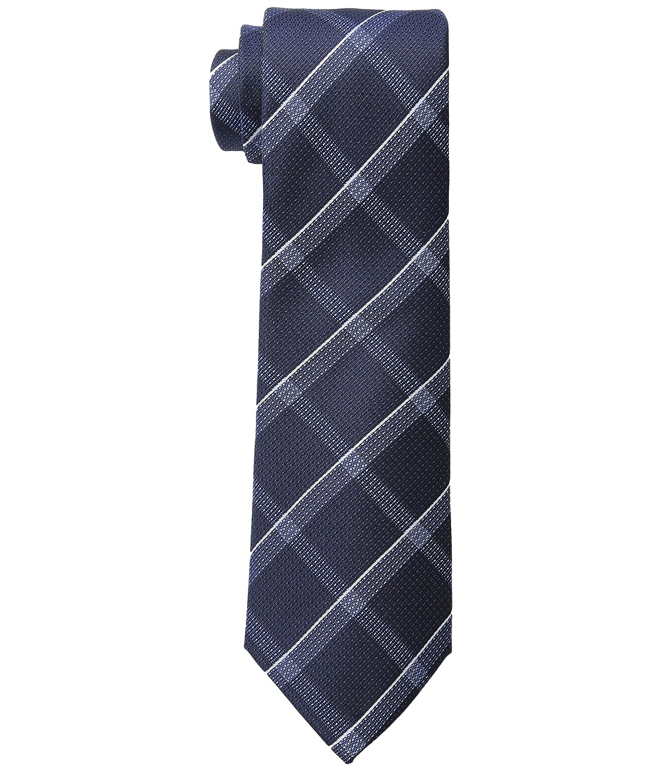 Kenneth Cole Reaction - Modern Windowpane (Midnight) Ties