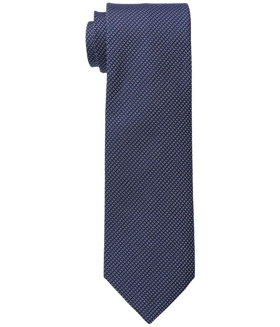 Kenneth Cole Reaction - Waffle Texture (Navy) Ties