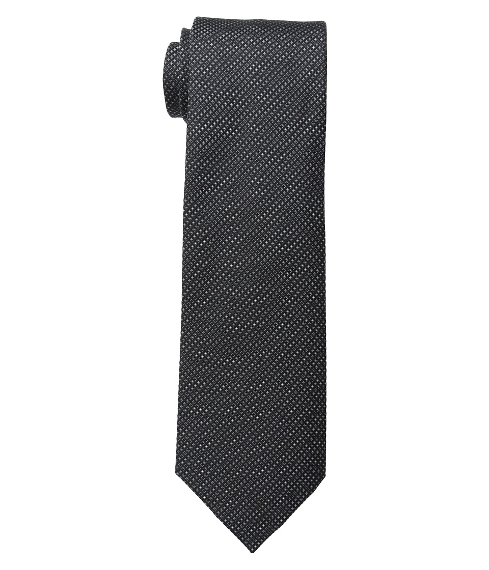 Kenneth Cole Reaction - Waffle Texture (Black) Ties