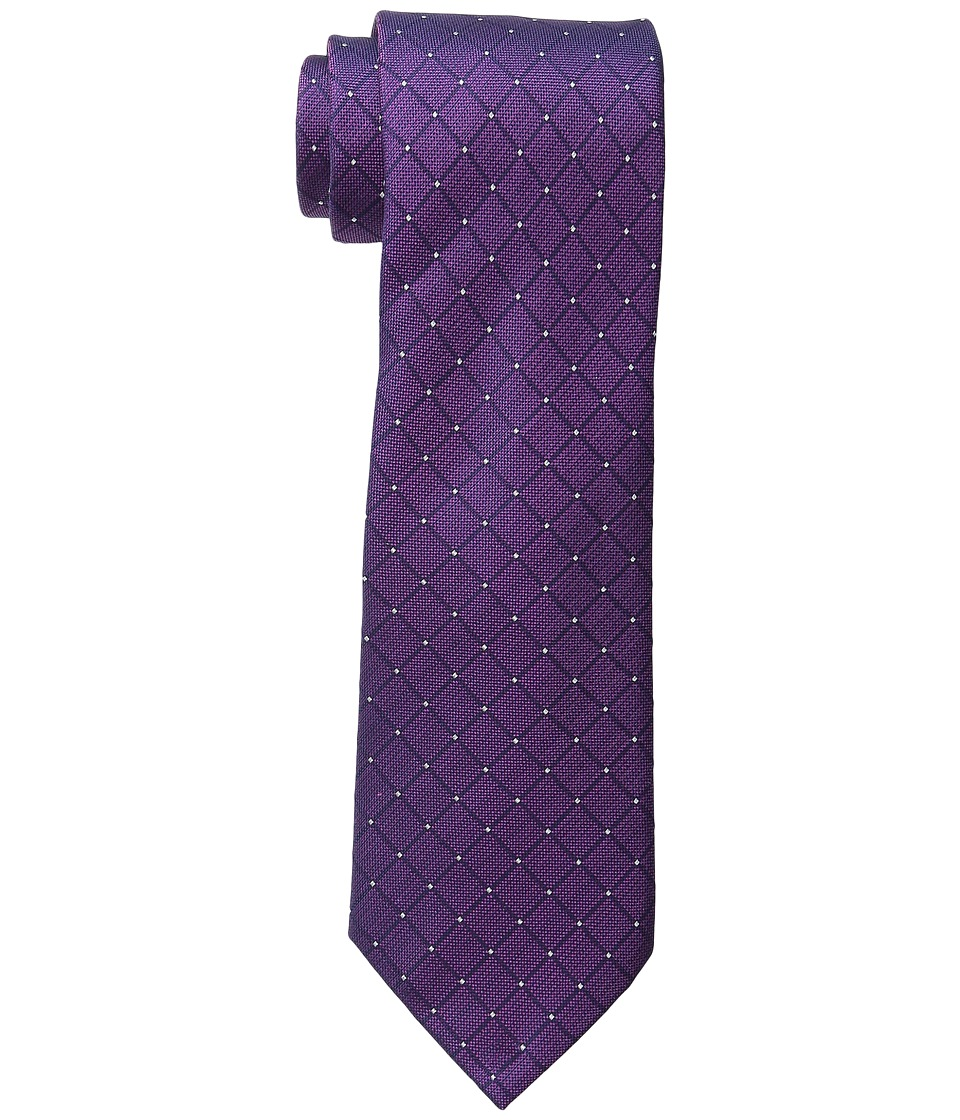 Kenneth Cole Reaction - Connected Square (Purple) Ties