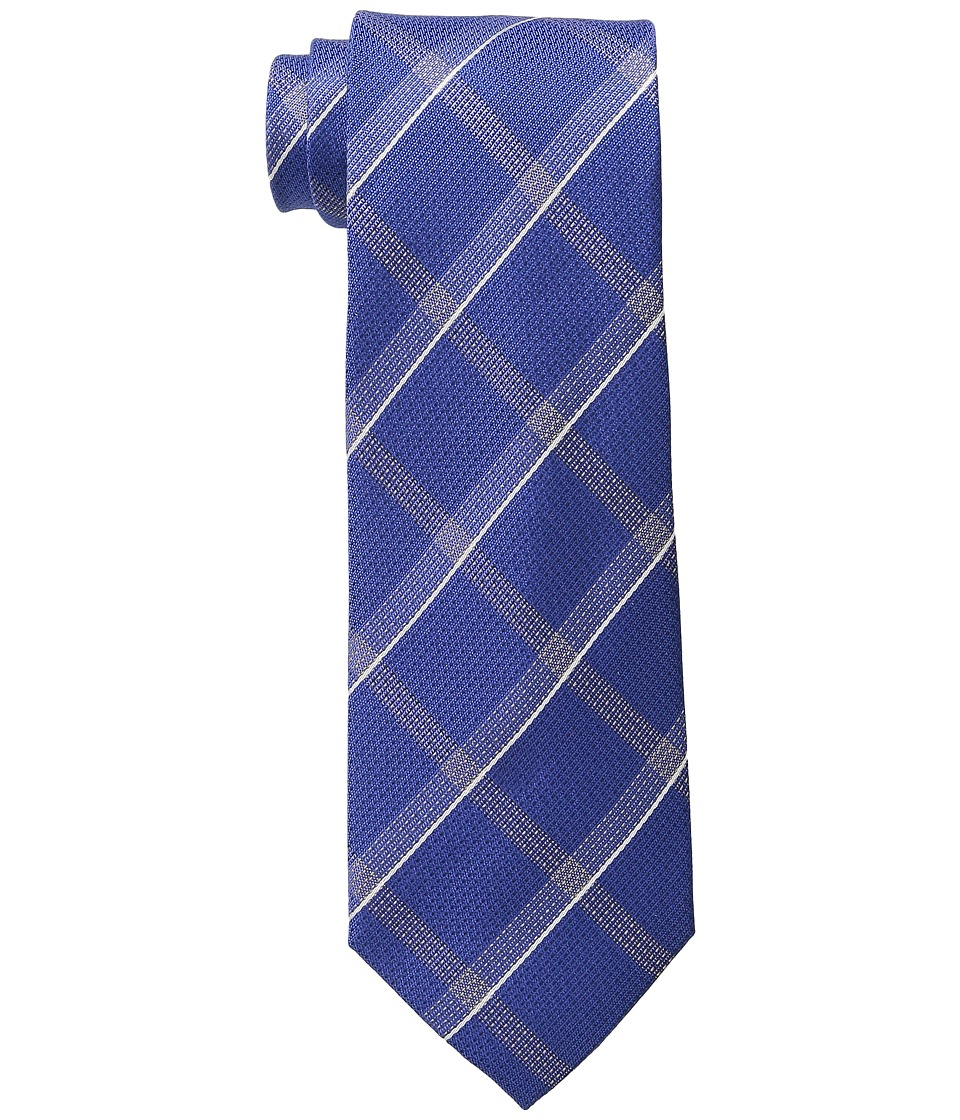 Kenneth Cole Reaction - Modern Windowpane (Blue) Ties