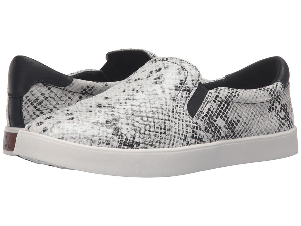 Dr. Scholl's - Scout - Original Collection (Black/Multi Snake Print Leather) Women's Slip on Shoes