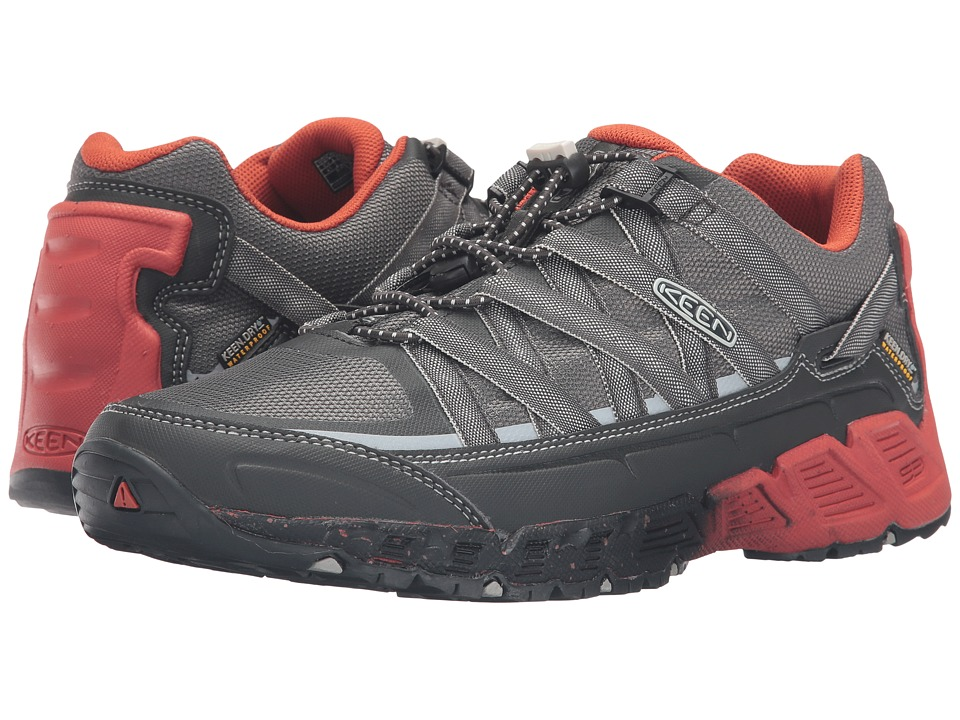 Keen - Versatrail WP (Raven/Burnt Ochre) Men's Shoes