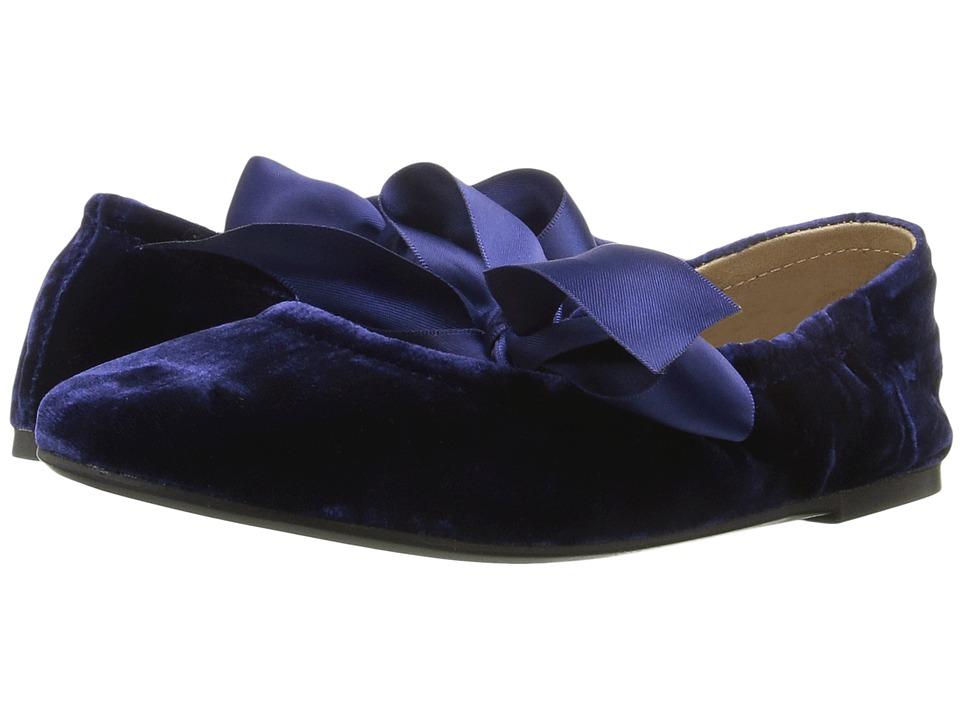 Polo Ralph Lauren Kids - Briana (Little Kid/Big Kid) (Navy Velvet) Girl's Shoes