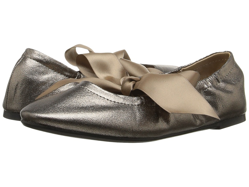 Polo Ralph Lauren Kids - Briana (Little Kid/Big Kid) (Pewter Patent Shimmer) Girl's Shoes