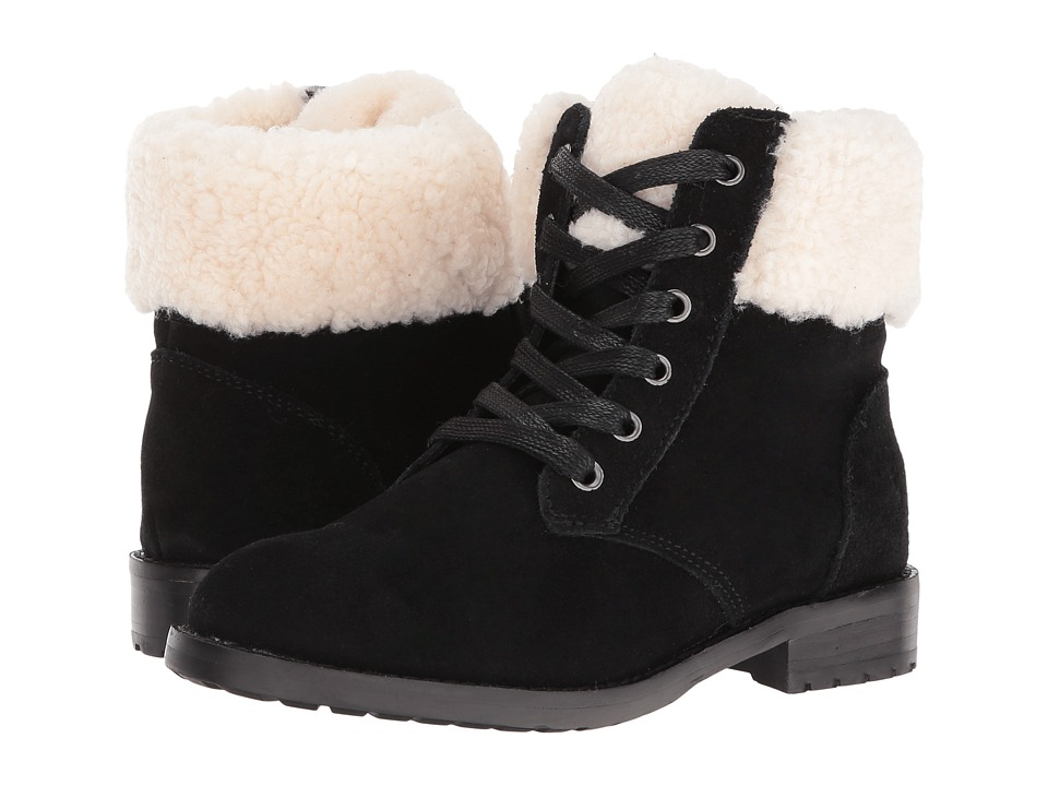 Polo Ralph Lauren Kids - Mikaela (Little Kid/Big Kid) (Black Suede) Girl's Shoes
