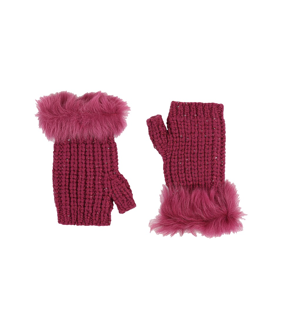 UGG - Crochet Gloves w/ Lurex/Sequins/Toscana Trim (Bougainvillea Multi) Extreme Cold Weather Gloves