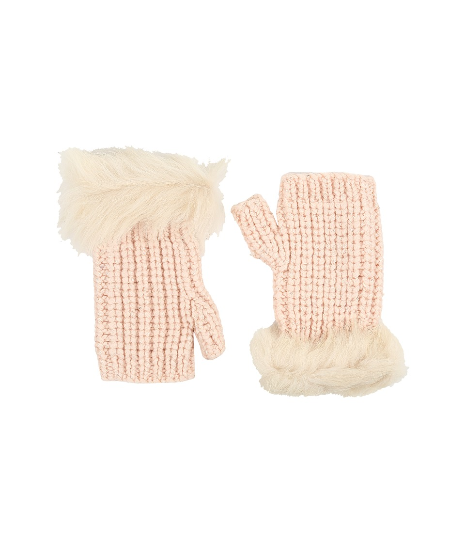 UGG - Crochet Gloves w/ Lurex/Sequins/Toscana Trim (Freshwater Pearl Multi) Extreme Cold Weather Gloves