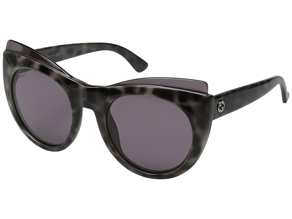 Gucci - GG 3781S (White Havana) Fashion Sunglasses
