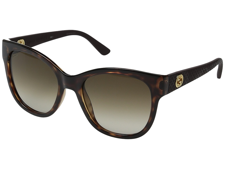 Gucci - GG 3786S (Havana Brown) Fashion Sunglasses