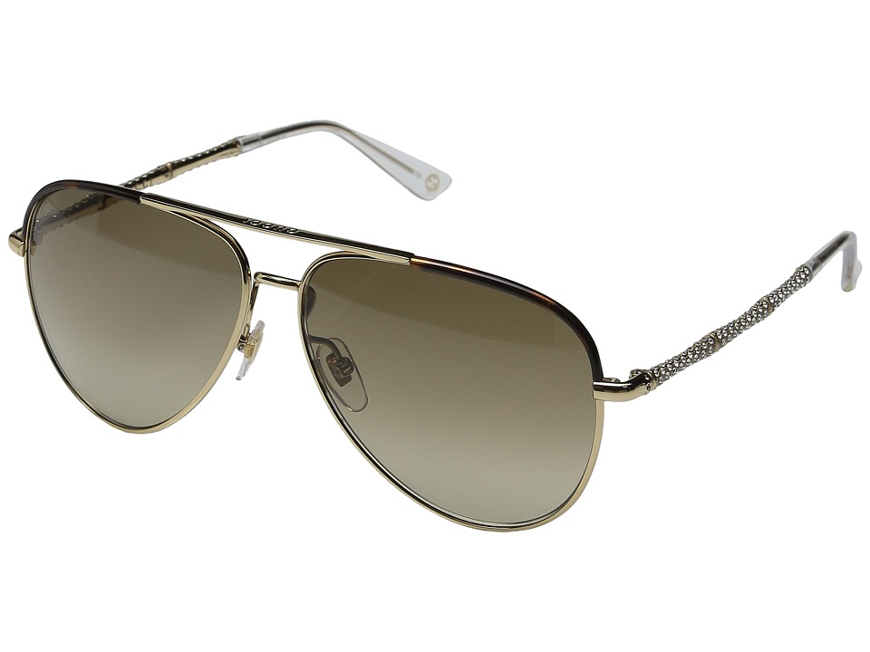 Gucci - GG 4276NS (Gold) Fashion Sunglasses