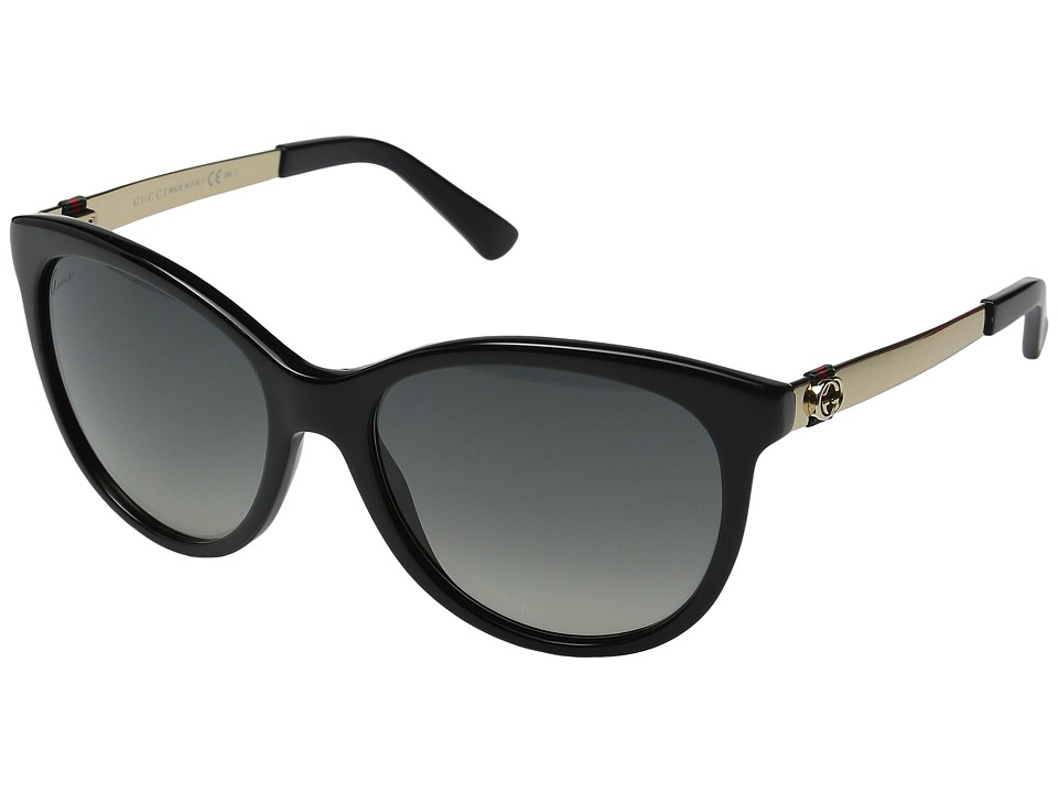 Gucci - GG 3784S (Black/Gold) Fashion Sunglasses