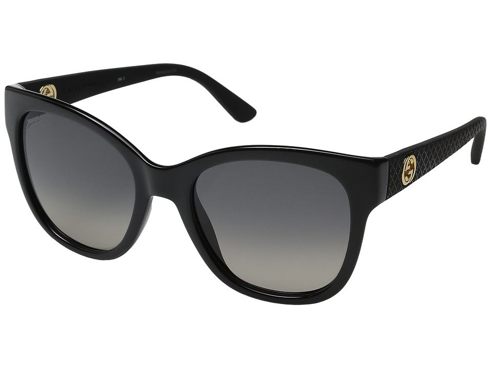 Gucci - GG 3786S (Black Rubber) Fashion Sunglasses
