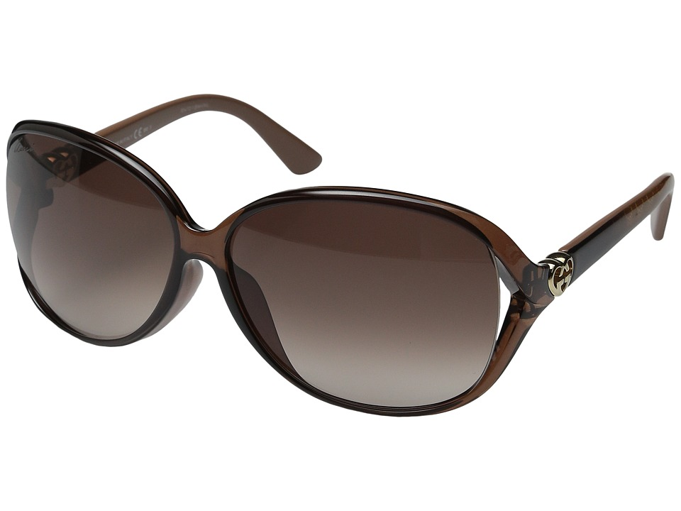 Gucci - GG 3792FS (Tort Brown) Fashion Sunglasses