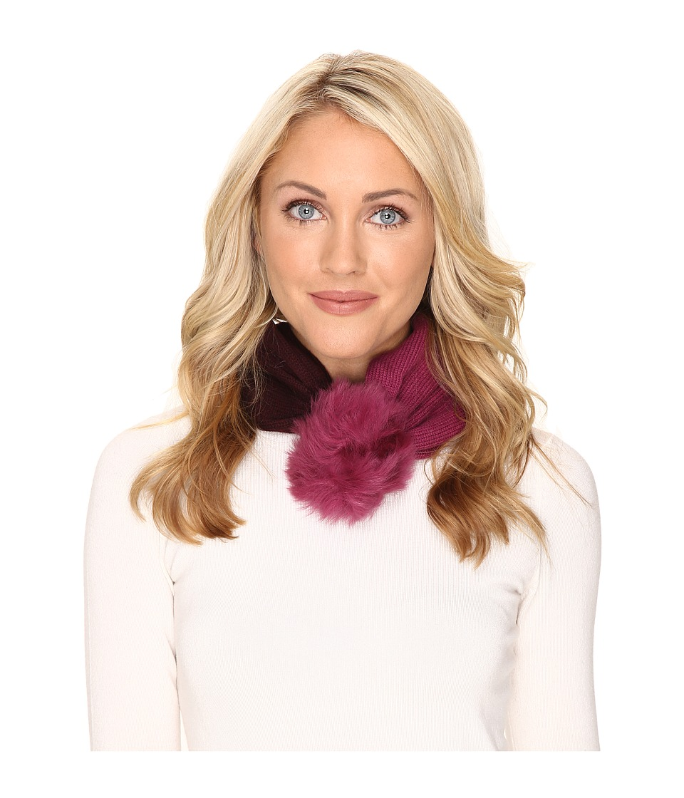 UGG - Snoot w/ Toscana Trim - Snood + Hat (Bougainvillea Multi) Scarves
