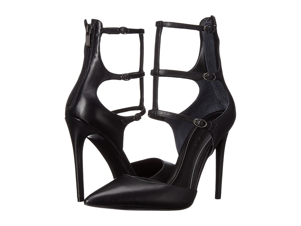 KENDALL + KYLIE - Alisha 3 (Black Nappa) High Heels