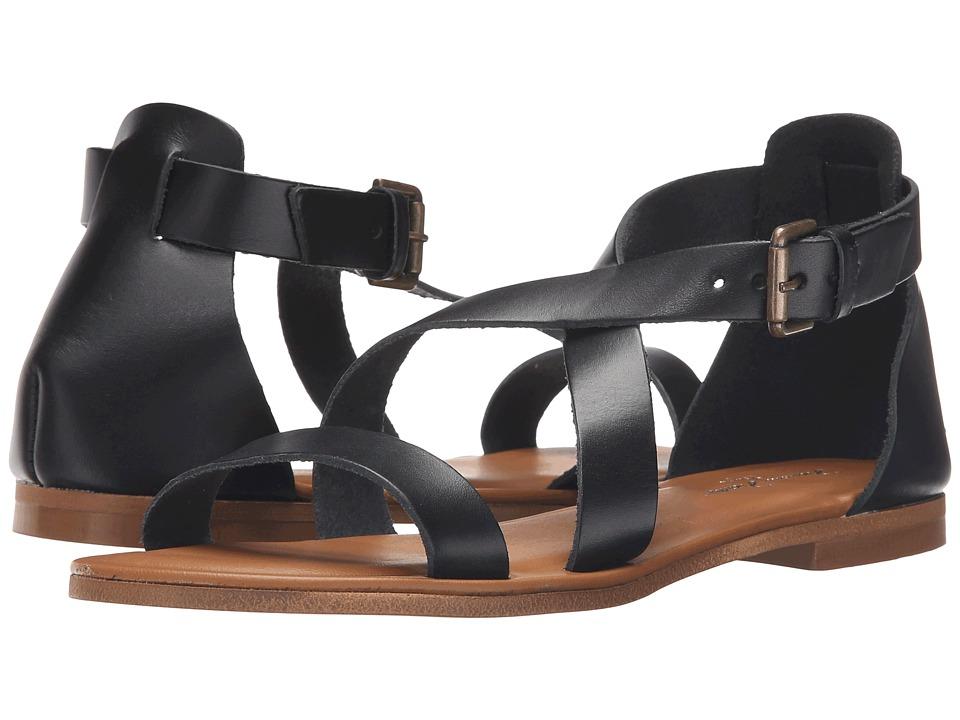 Massimo Matteo - 3 Band Sandal (Black) Women's Sandals