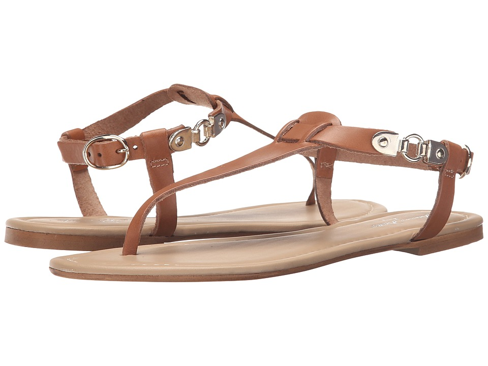 Massimo Matteo - Thong Buckle Ankle Strap (Noce) Women's Sandals
