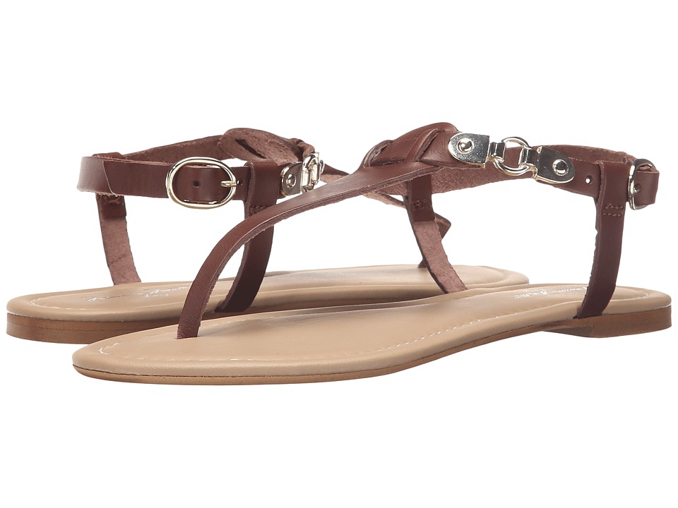 Massimo Matteo - Thong Buckle Ankle Strap (Testa Di Moro) Women's Sandals