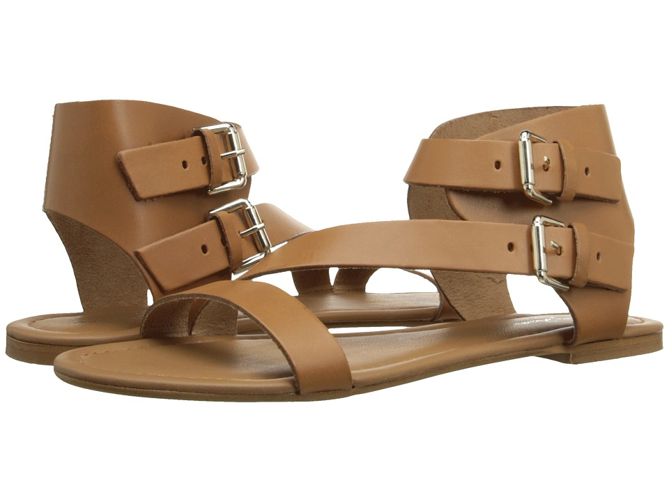 Massimo Matteo - 2 Band Ankle Strap (Noce) Women's Sandals