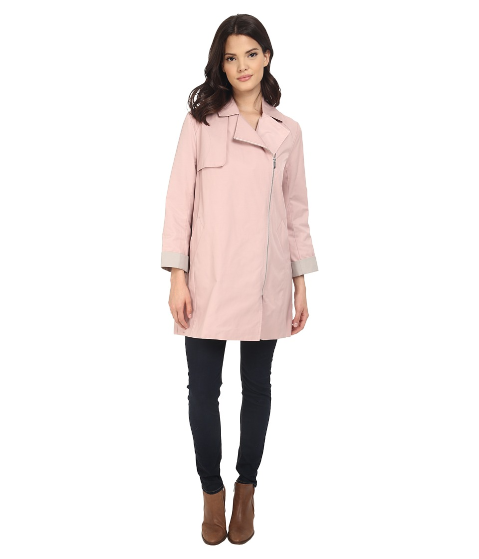 Cole Haan - Moto Swing Coat (Canyon Rose) Women's Coat