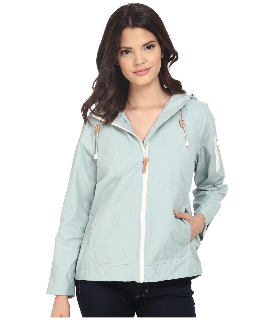 Cole Haan - Sporty Hooded Packable Jacket (Seafoam) Women's Coat