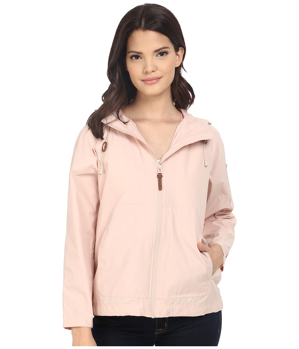 Cole Haan - Sporty Hooded Packable Jacket (Canyon Rose) Women's Coat