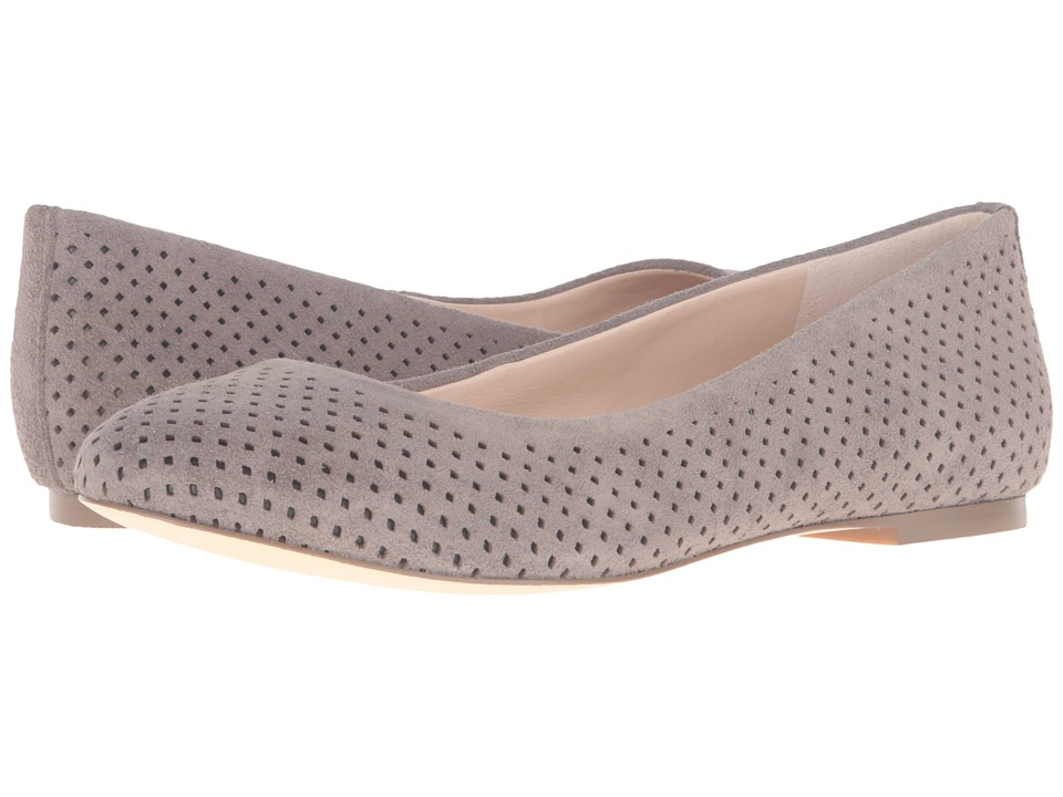 Dr. Scholl's - Vixen - Original Collection (Brushed Nickel Suede) Women's Flat Shoes