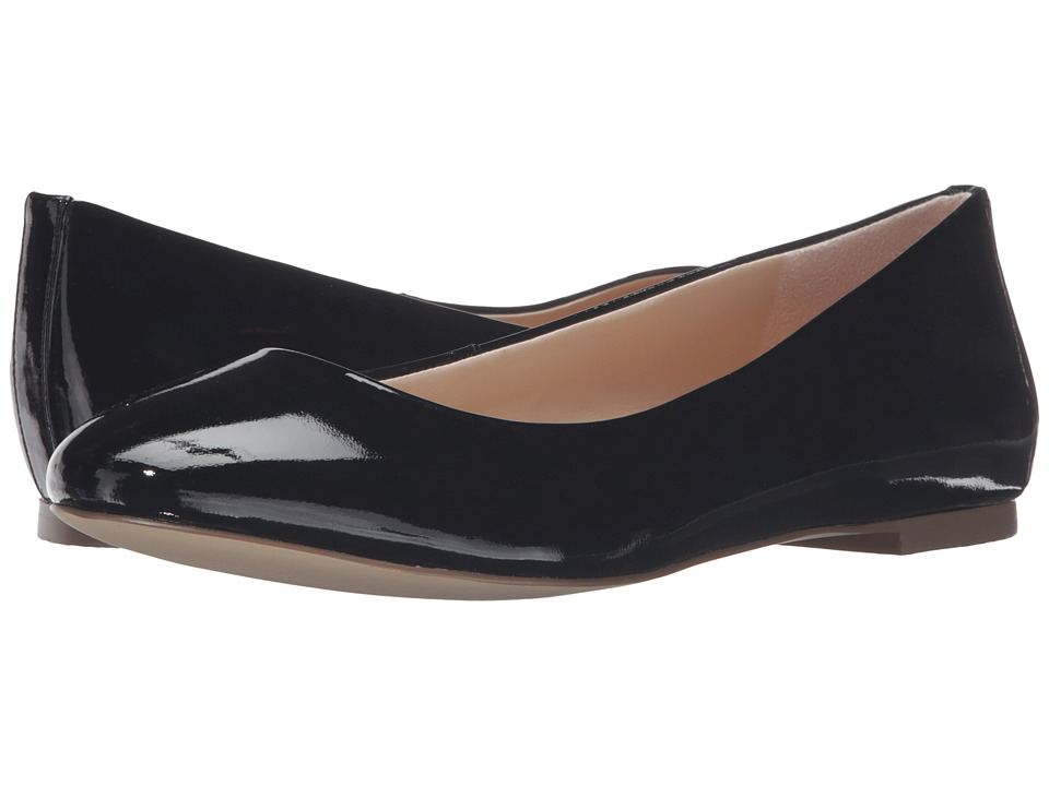 Dr. Scholl's - Vixen - Original Collection (Black Patent) Women's Flat Shoes