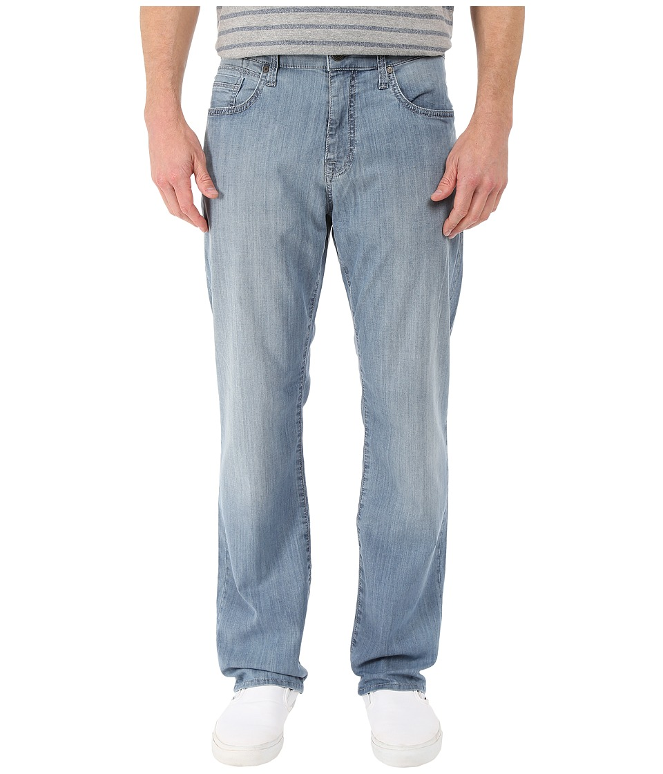 Mavi Jeans Myles Casual Straight in Light Chambray (Light Chambray) Men