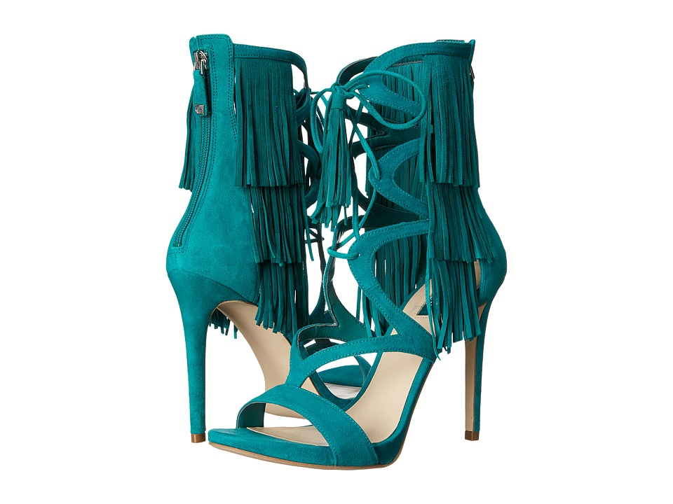 GUESS - Abria (Green Suede) Women's Shoes