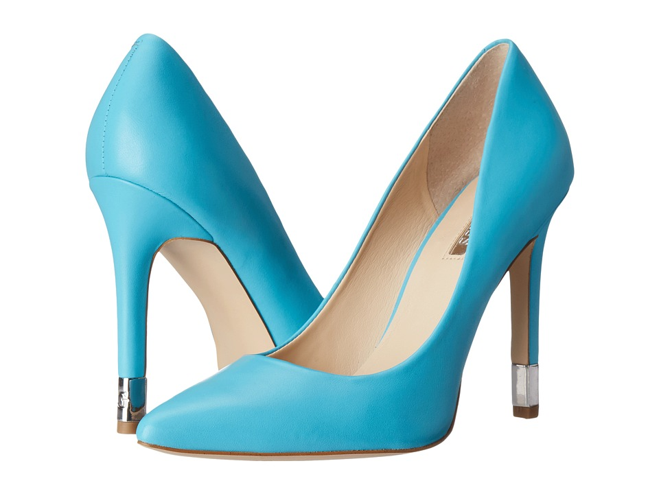 GUESS - Babbitta (Blue Leather) High Heels