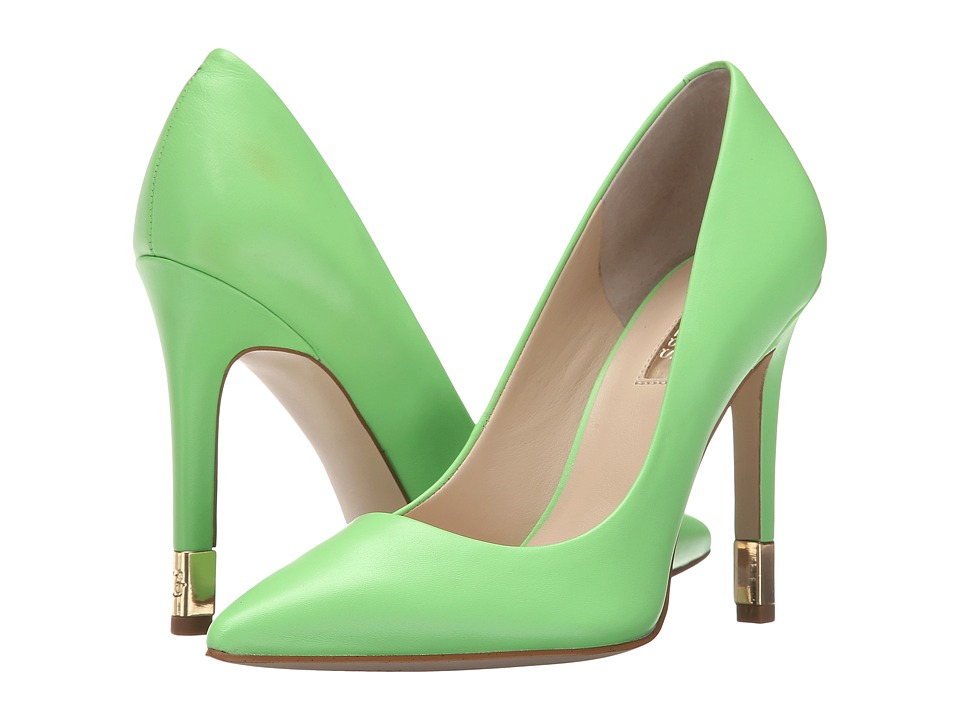 GUESS - Babbitta (Green Leather) High Heels