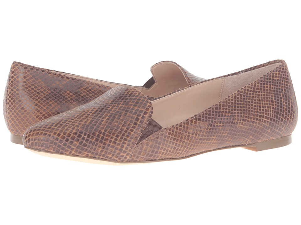 Dr. Scholl's - Require Original Collection (Cognac Multi Snake Print Leather) Women's Flat Shoes