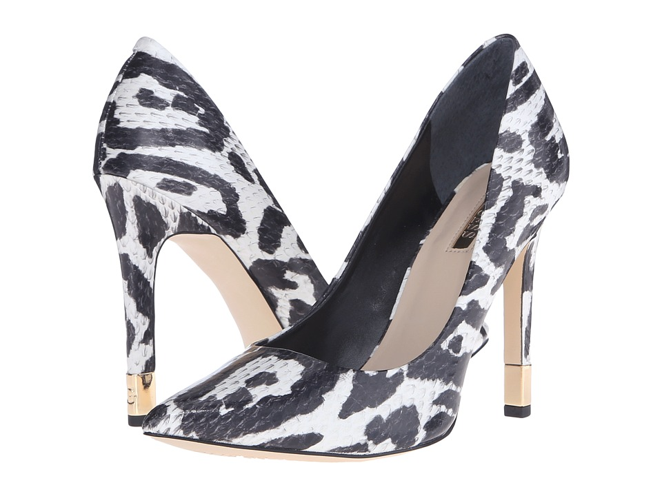 GUESS - Babbitta (White Fabric) High Heels