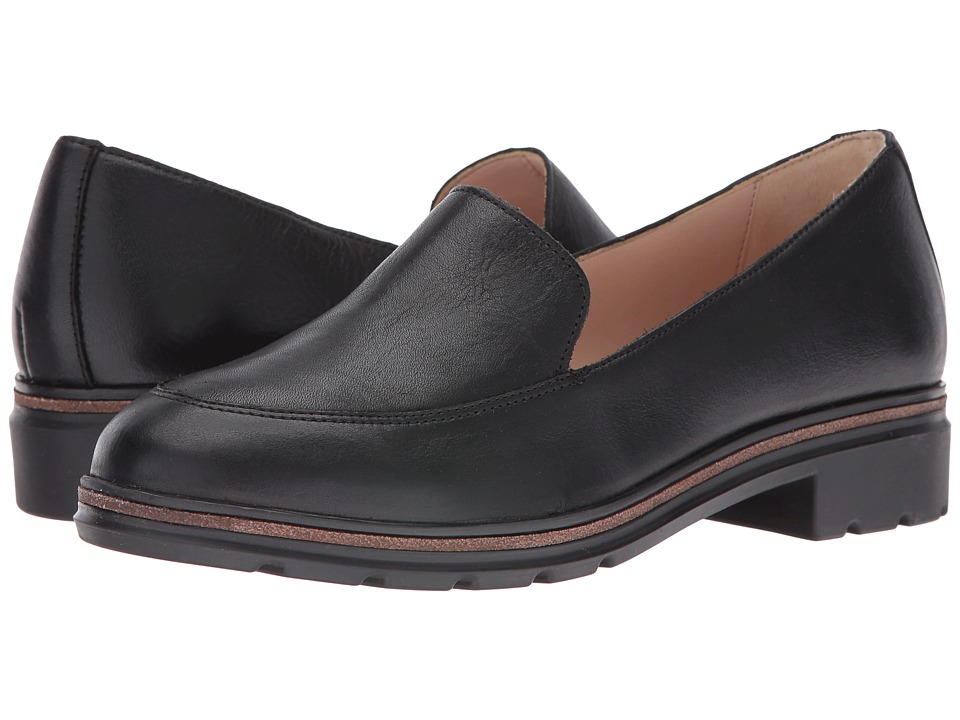 Dr. Scholl's - Hollie - Original Collection (Black Leather) Women's Shoes