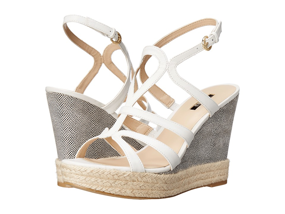 GUESS Habbie (White Leather) Women