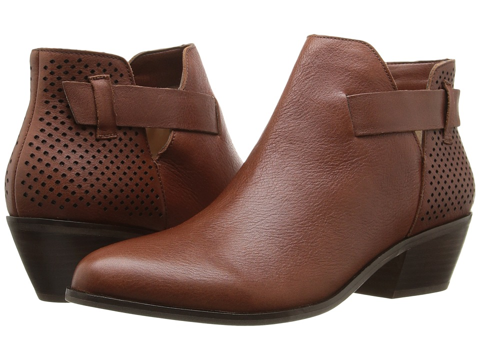 Dr. Scholl's - Jonet - Original Collection (Cognac Leather) Women's Shoes