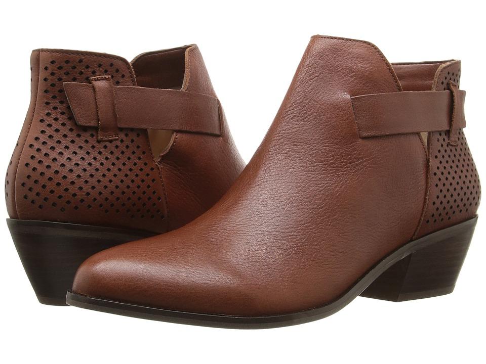 Dr. Scholl's - Jonet - Original Collection (Cognac Leather) Women's Shoes