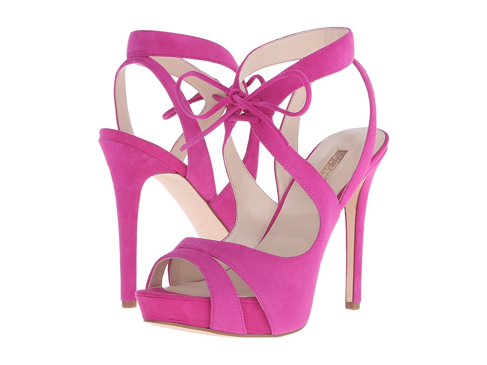 GUESS - Hedday (Pink Suede) Women's Shoes